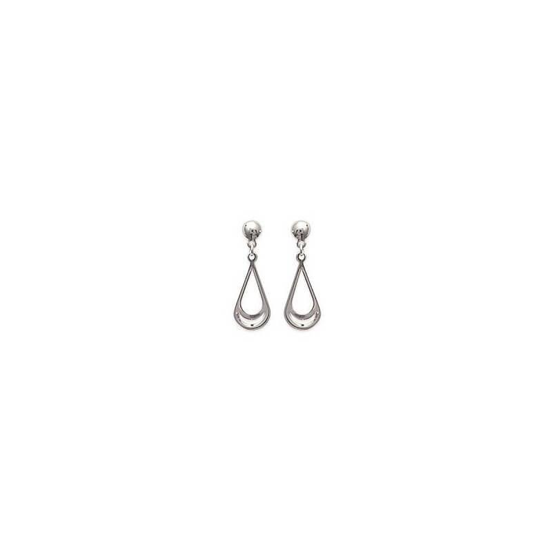 Boucles D'oreilles pendantes  Argent Massif 925 Millièmes Bijoux femme
