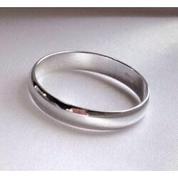 Bague Alliance Jonc Argent Massif 925 Rhodié Garanti bijoux femme Taille 58