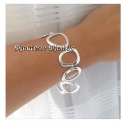 Bracelet Maillons Ronds Larges   Argent Massif 925/1000  Bijoux Femme  NEUF