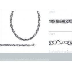 Magnifique Bracelet Maillons Larges - Acier Inoxydable 316L- Bijoux Femme