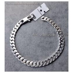 Bracelet Maille Gourmette 20CM x 6MM Argent Massif 925/1000 Bijoux MIXTE