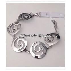 Magnifique Bracelet Original Large-En Acier Inoxydable 316L-Bijoux Femme-Qualité