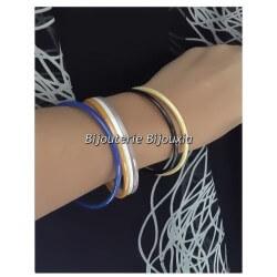 Origninal -  Bracelet Jonc Pure Céramique de couleur bleu  Bijoux Femme