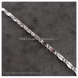 Bracelet Petites Mailles En Argent Massif 925/000 Bijoux Femme
