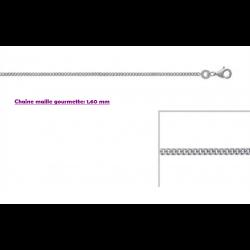 Chaînes Argent Massif 925/1000 -  Choix Modèles - Tailles au Choix Bijoux