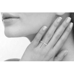 Bague Forme Croix en Argent Massif 925/1000 Taille choix Poinçonné Bijoux femme