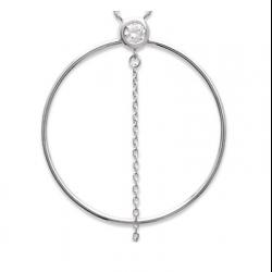 Collier tour de cou Pierre oxyde de zirconium Argent Massif 925 Bijoux Femme