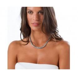 Collier maille palmier Argent massif 925/1000 Bijoux femme Qualité Bijouterie