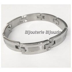 Bracelet Homme Tendance  Acier inoxydable 316L - Bijoux NEUF