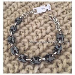 Bracelet Mixte Maille Grain...