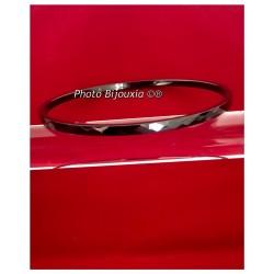 Bracelet Jonc 3 mm facetté...