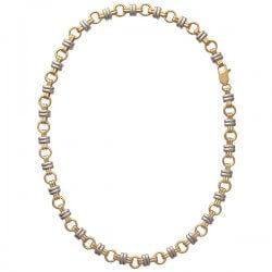 Bracelet Bicolore Maillons...