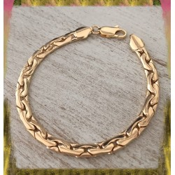 Bracelet Maille Haricot...