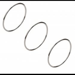 Bracelets Lot Triple Joncs...