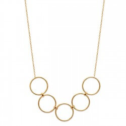 Collier Fantaisie Maillons...