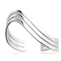 Bracelet Jonc ouvert Ondulé...