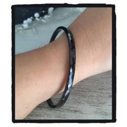 Bracelet Jonc facetté 4mm x...