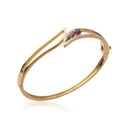 Bracelet Ouvrable ZIRCONIUM...