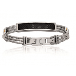 Bracelet Homme Câble En...