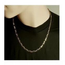 Chaîne ou Bracelet Figaro...