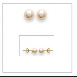 Boucles D'oreilles Perles 6...
