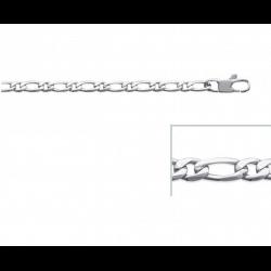 Bracelet Maille Figaro 21cm...