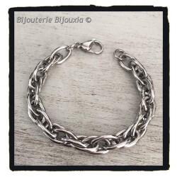 Bracelet Maillons Larges En...