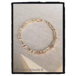 Bracelet Maille Alternée...