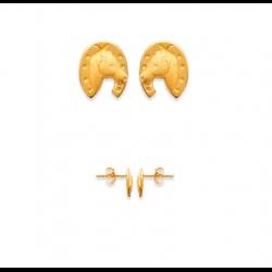 Boucles D'oreilles Puces...