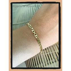 Bracelet Maille souple...
