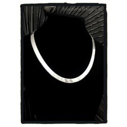Collier Maille Miroir Large...