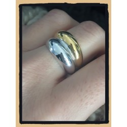 Bague Bicolore TAILLE 56...