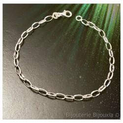 Bracelet Maillons Cheval En...