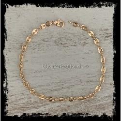Bracelet Fin Maille Grain...