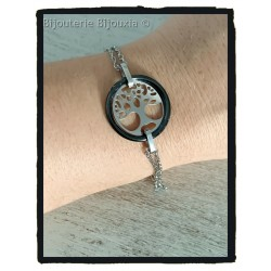 Bracelet Symbole Arbre de...