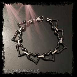 Bracelet Coeur en pure...