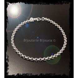 Bracelet Maille Jaseron 18...