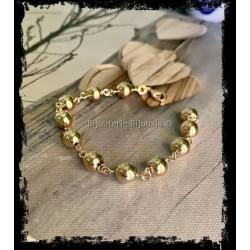 Bracelet Boules 8MM Plaqué...