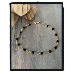 Bracelet cristal noir...