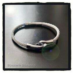 Bracelet Jonc Femme Câble...