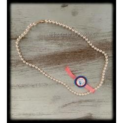 Collier 45 cm Perle De...