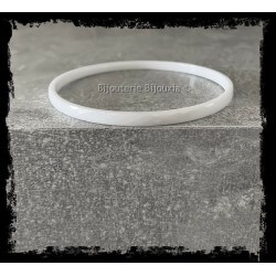 Bracelet Jonc facetté 3mm x...