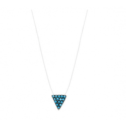 Collier Fil Nylon Triangle...