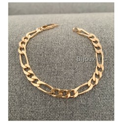 Bracelet Large Figaro 8MM x...