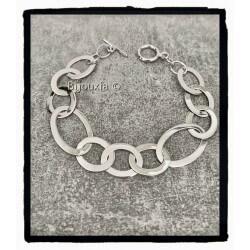 Bracelet Large Anneaux...