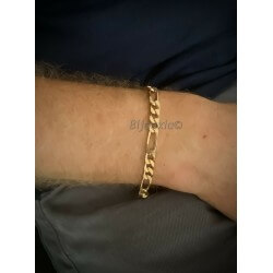 Bracelet Maille Figaro 6MM...