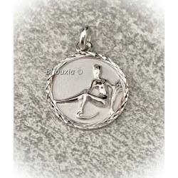 Pendentif Médaille Signe...
