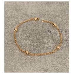 Bracelet maille Serpent et...