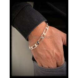 Bracelet Large Figaro 23cm...