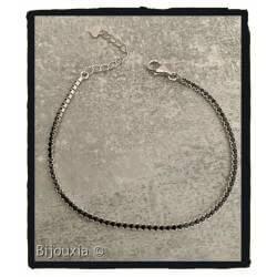 Bracelet Fin Serti Cristal...